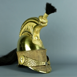 CASQUE D'OFFICIER DE LA GARDE DE PARIS MODELE 1830 - LOUIS PHILIPPE