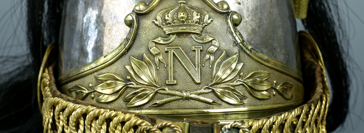 CASQUE D'OFFICIER DE CUIRASSIER DE LA GARDE IMPERIALE - MODELE 1854