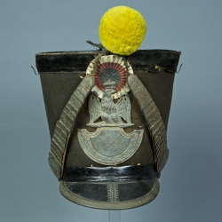 SHAKO DE SOUS-OFFICIER DE LA GARDE NATIONALE MODELE 1812