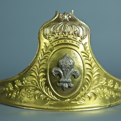 BANDEAU DE CASQUE D'OFFICIER DE LA GARDE NATIONALE - MODELE 1815 / 1830