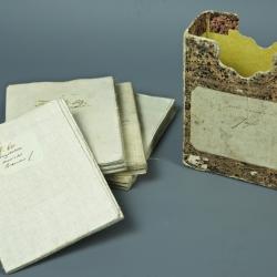 ENSEMBLE DE 9 CARTES D'ALLEMAGNE - ÉPOQUE FIN XVIIIe.
