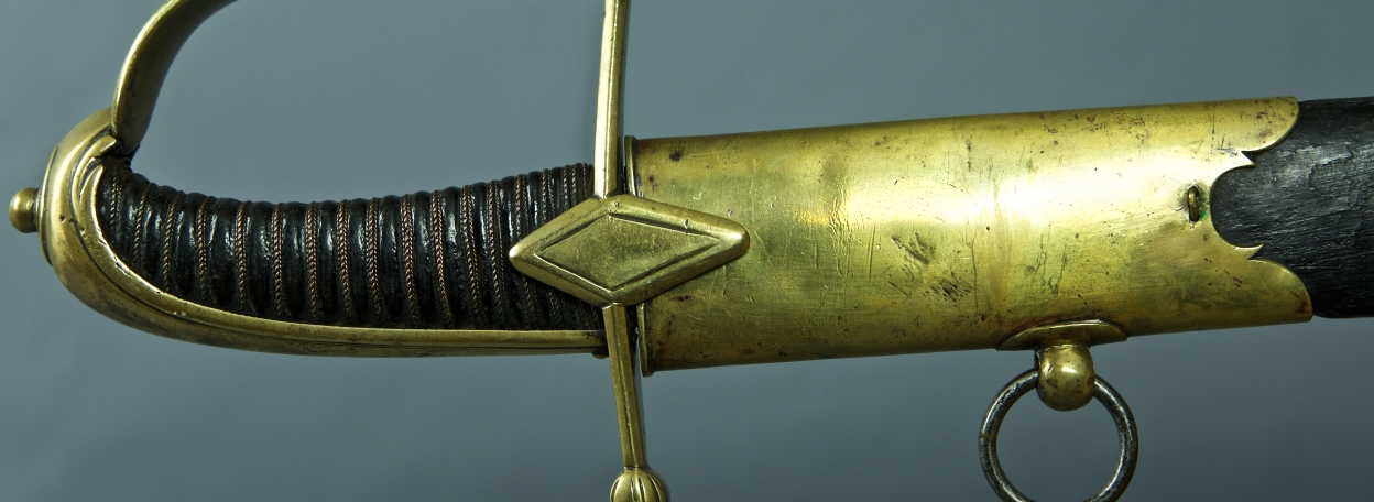 SABRE FANTAISIE DE SOUS OFFICIER DE HUSSARDS MODELE 1790 - REVOLUTION