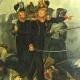 PEINTURE à L'HUILE DE THEODOR GUDIN 1er PEINTURE OFFICIEL DE LA MARINE SOUS LE SECOND EMPIRE